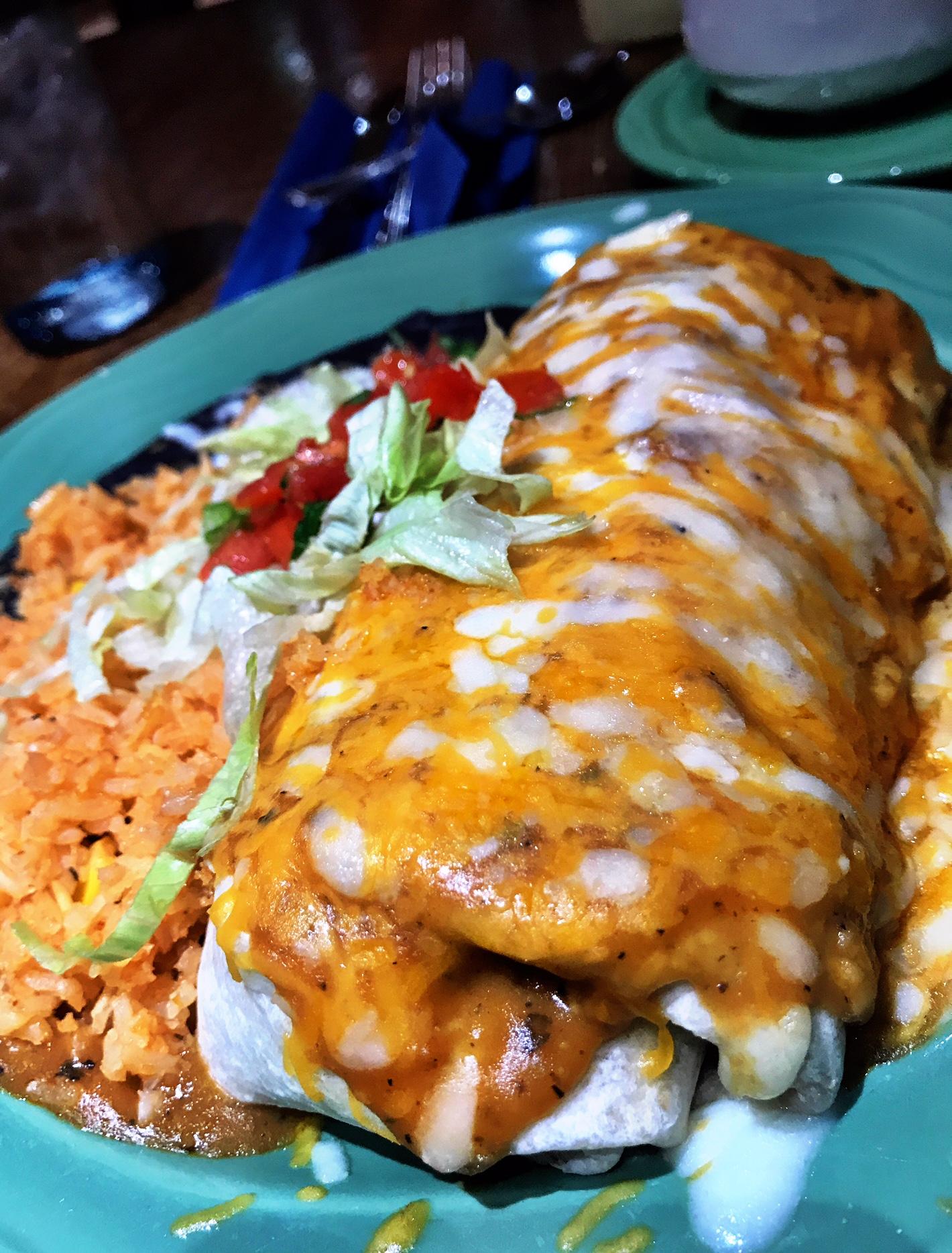 Pancho Villa's Prime Rib Burrito