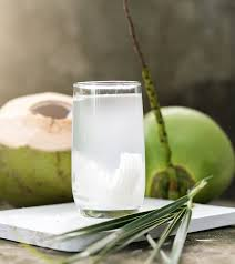 YOUNG COCONUT WATER ~ - I crack open fresh coconuts. The juice contains fresh coconut water and coconut meat that I scrape out of the coconut by hand. Natures sports recovery drink.$10