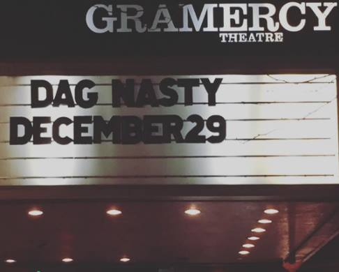 Dag Nasty put an awesome show.