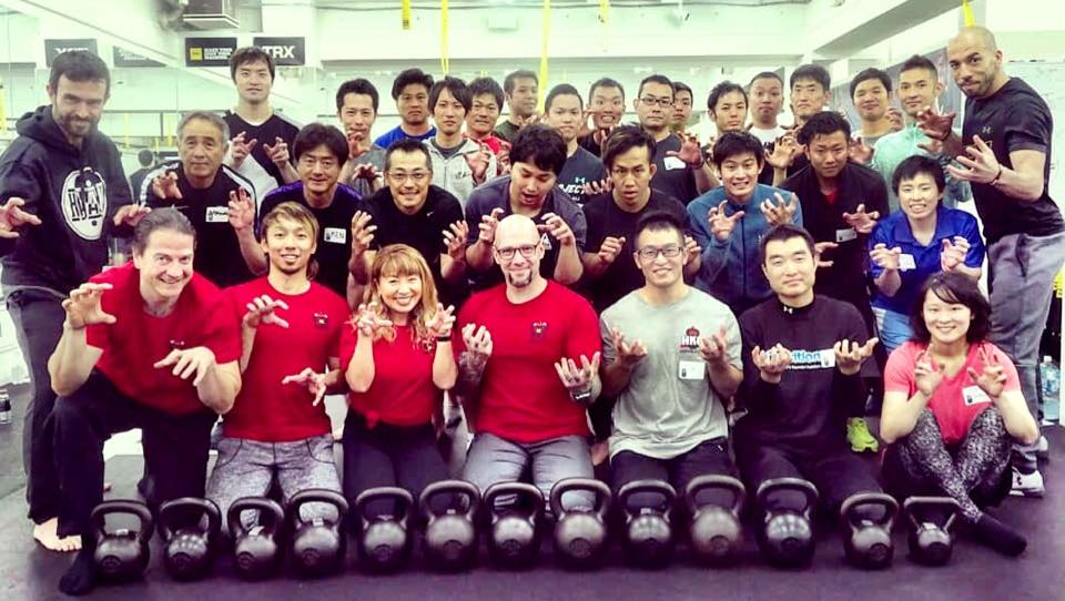 The 2nd Tokyo HKC Kettlebell Certification