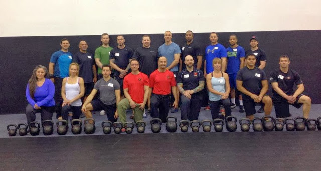 RKC. Assistant Instructor. Fit For Life. NJ. 4/12/13