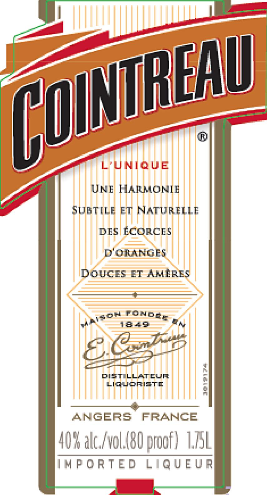 If you have triple sec on hand, that's fine, but Cointreau has the magic combo of bitterness, sweetness, and smooth orangey flavor that adds a great dimension to many cocktails, including a Sidecar.