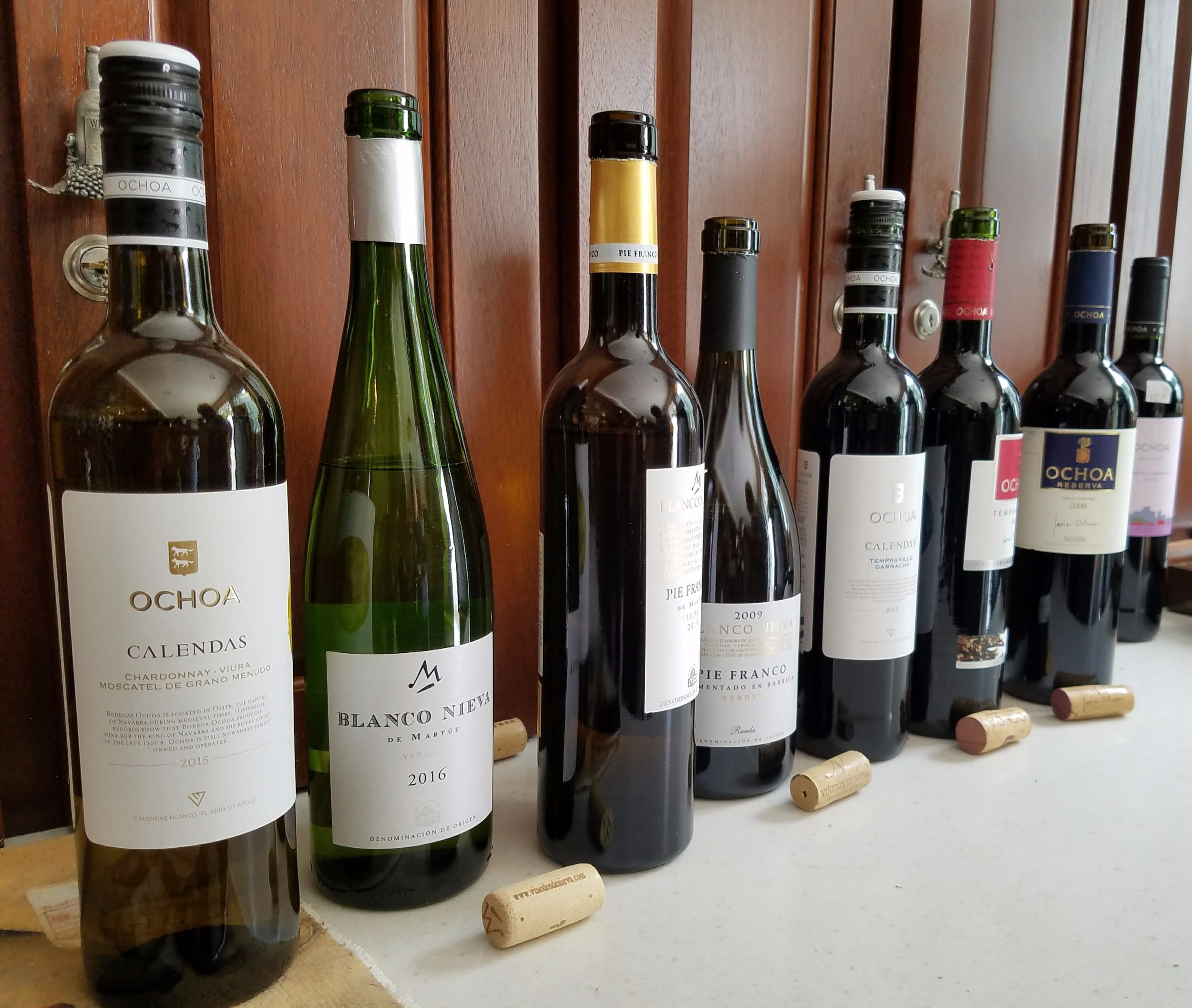 Everything from casual blends to barrel-fermented Verdejo. All of Ochoa's and Blanco Nieva's wines are great value, with only one wine eclipsing the $20 mark.
