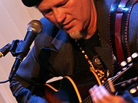 Dan Stevens has been an acoustic blues artist for 25 years; he represented the state of Connecticut in the International Blues Challenge in Memphis.