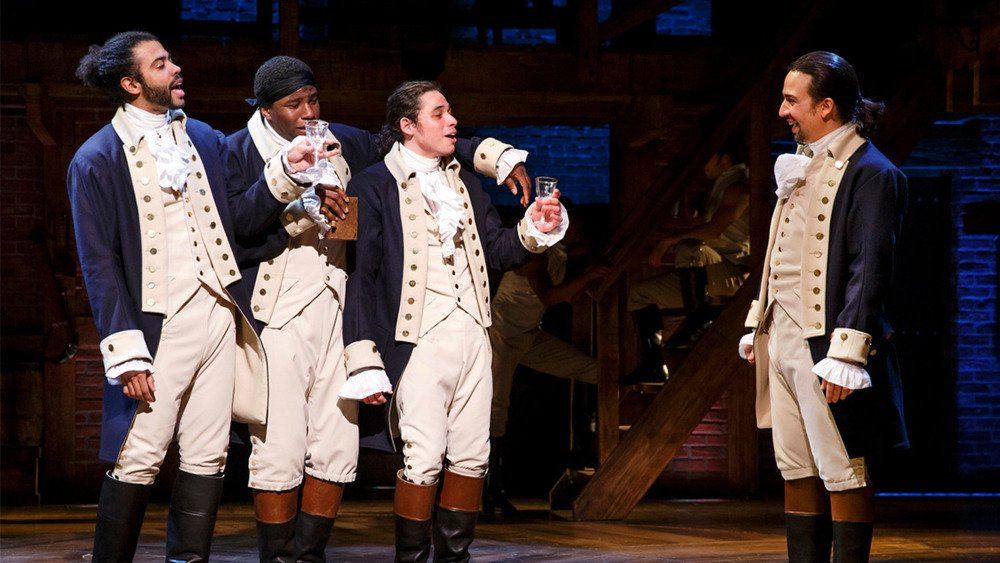 "The Original Broadway Cast of  Hamilton  performs  ""The Story of Tonight"""