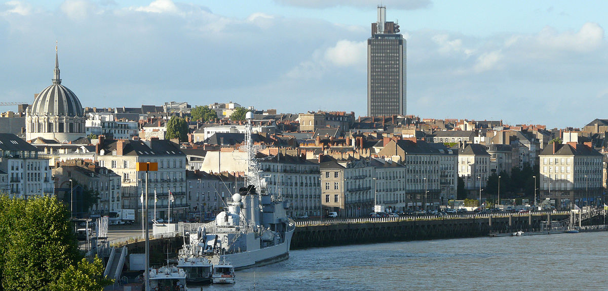 Wines from the vineyards near the river city of Nantes (pictured) are exactly what you need this summer.