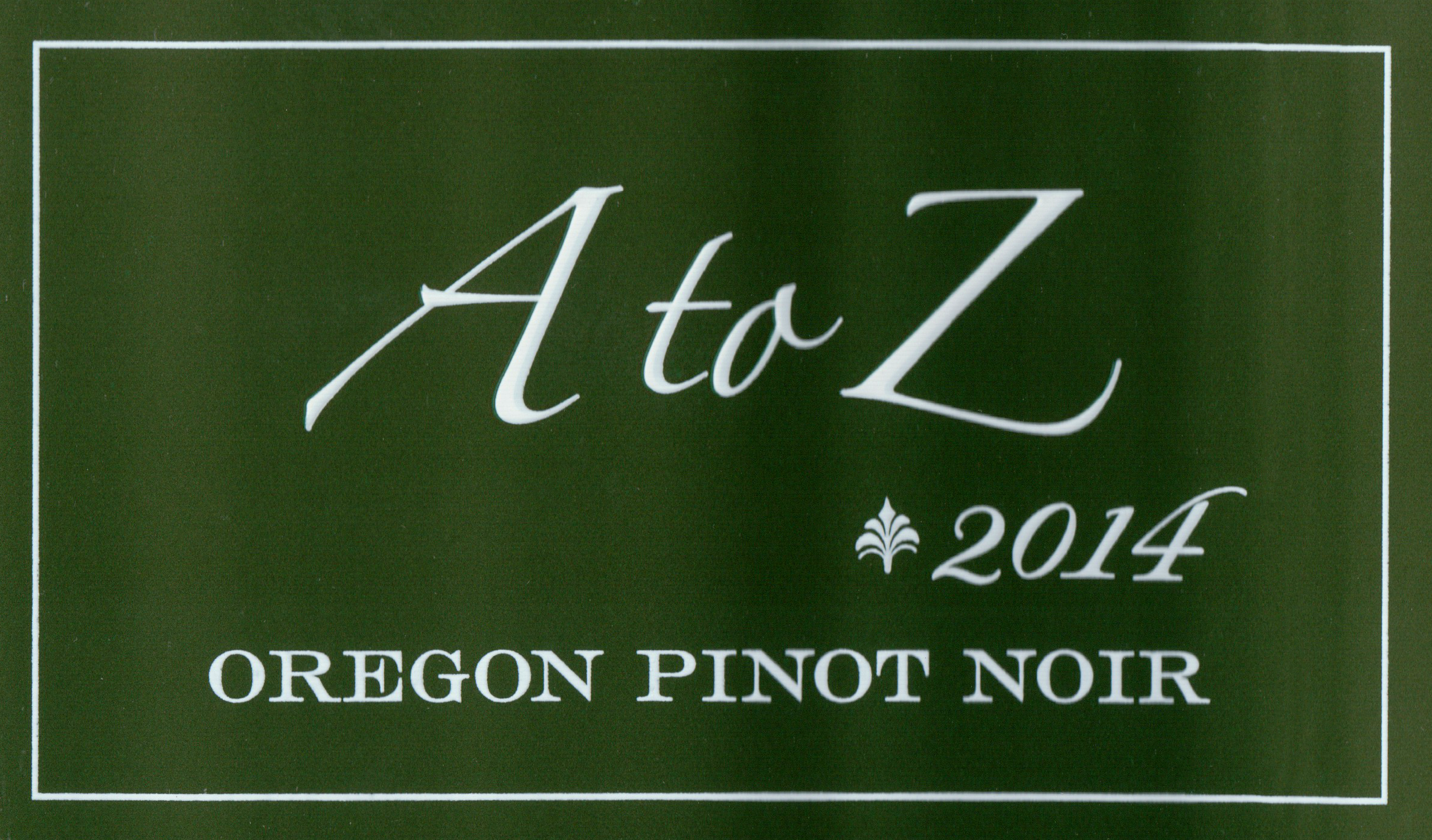 A great way to get into Pinot Noir, without paying over $20 for it. A to Z can be found for as little as $14 in some markets.