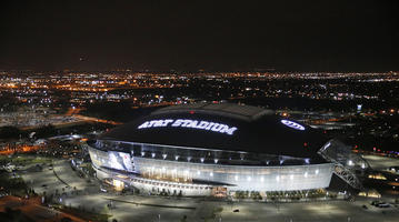 Where Sunday's score will be settled this week in prime time. Image credit:  Dallas Cowboys