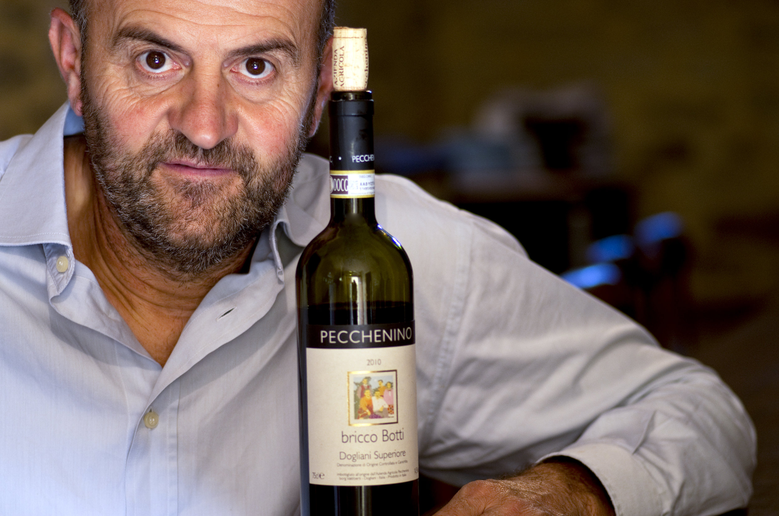 Spending five hours with Orlando Pecchenino shaped my understanding of winemaking, in general and Dolcetto, in particular. Image credit:  Tom Hyland