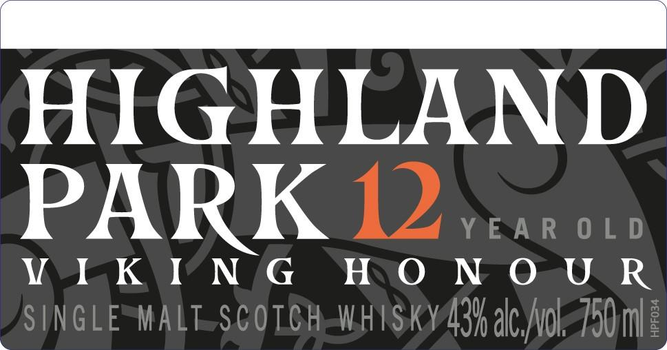 The Highland Park's repackaged 12 Year label, along with the rest of their range, reflects the Norse roots of the distillery's founder.
