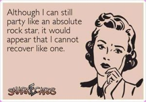 This could not be more true about me at this stage of my life.