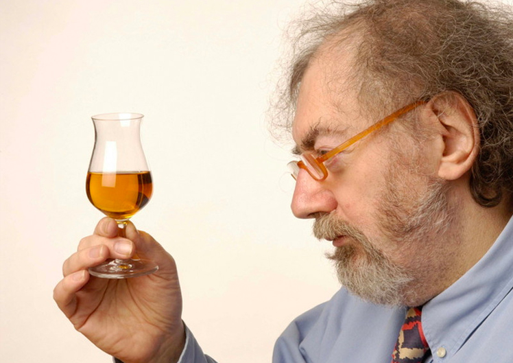 This man's work made a major impact on my interest and study of whisk(e)y. Tonight, I will raise a glass to you. Image credit:  International Whisky Day