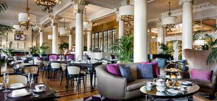 What does this tea room have to do with booze? Read on to find out! Image credit:  Fairmont Empress