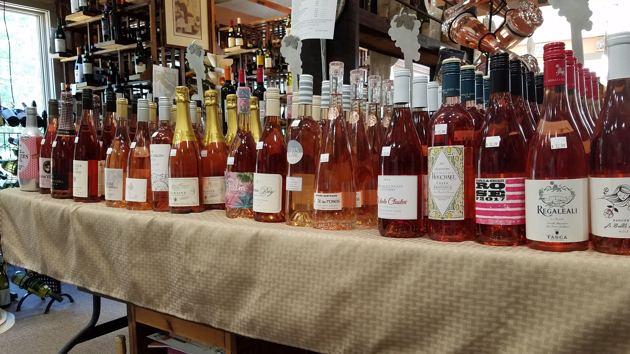 We tasted a WHOLE LOT of Rosé recently.