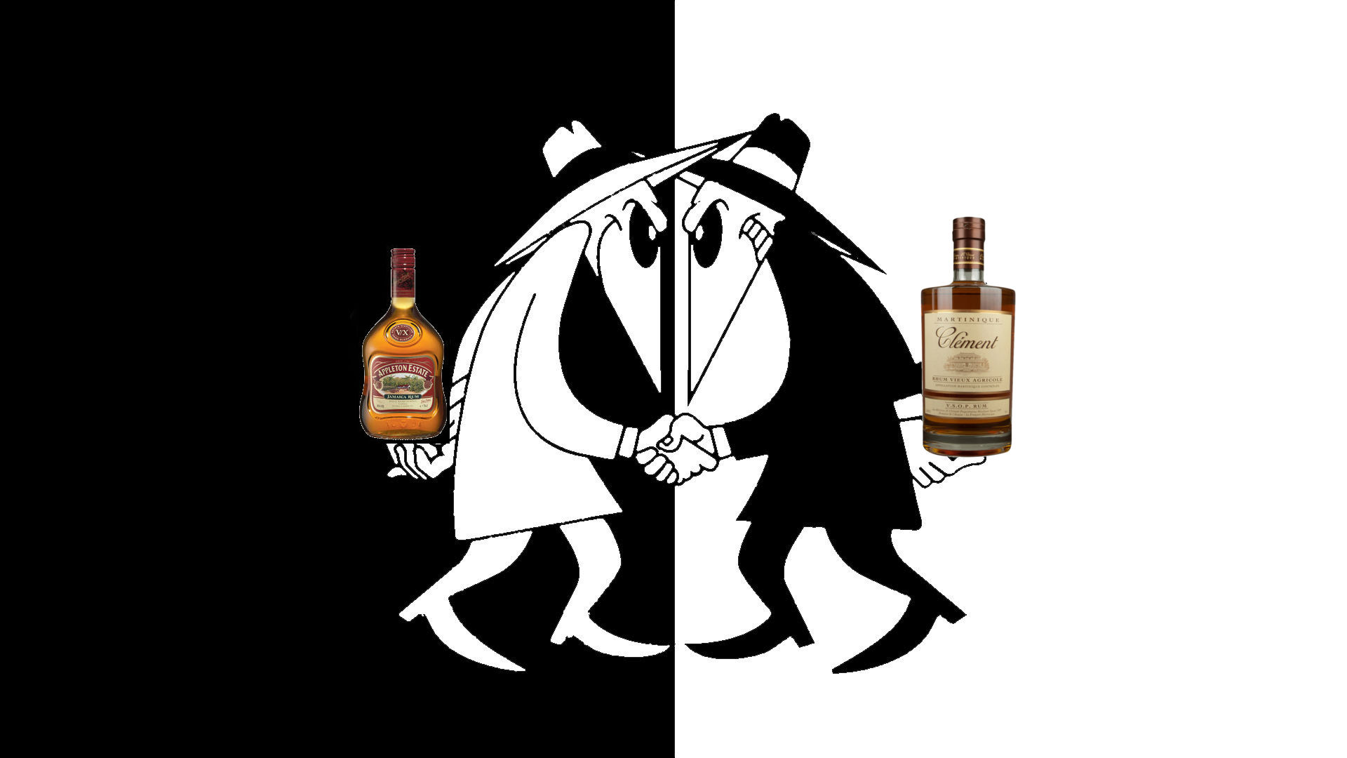 Are you a rum fan or a rhum fan? Read on, and you should be able to answer this question.