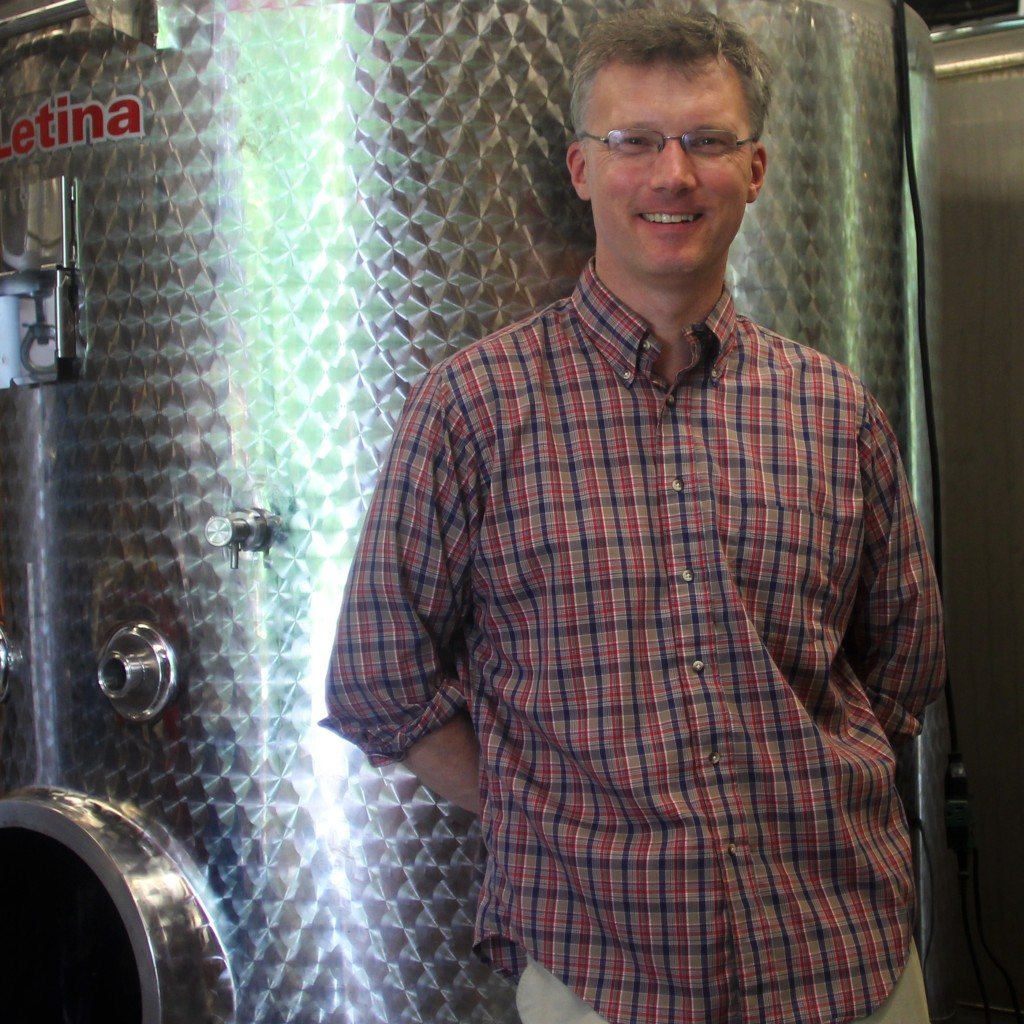 Founder and Head Distiller at Saxtons River Distillery, Christian Stromberg