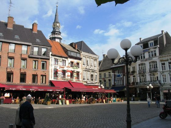 The medieval city of Hasselt, Belgium…the place where it all began. Image credit:  Trip 101