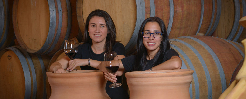 Marta Casas (L) and Maria Elena Jimenez (R) of Parés Baltà