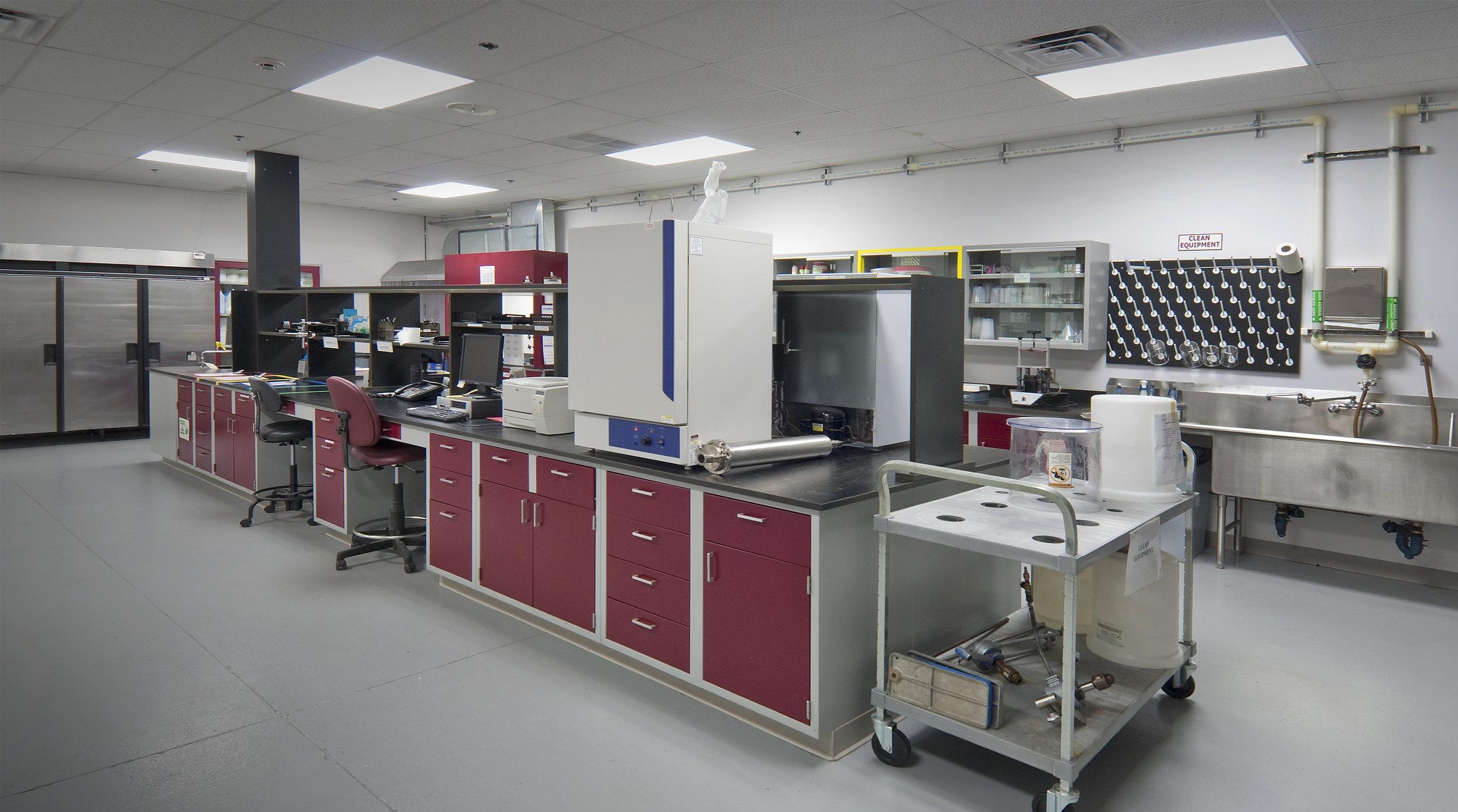 Mansfield Bio-Incubator - Lab