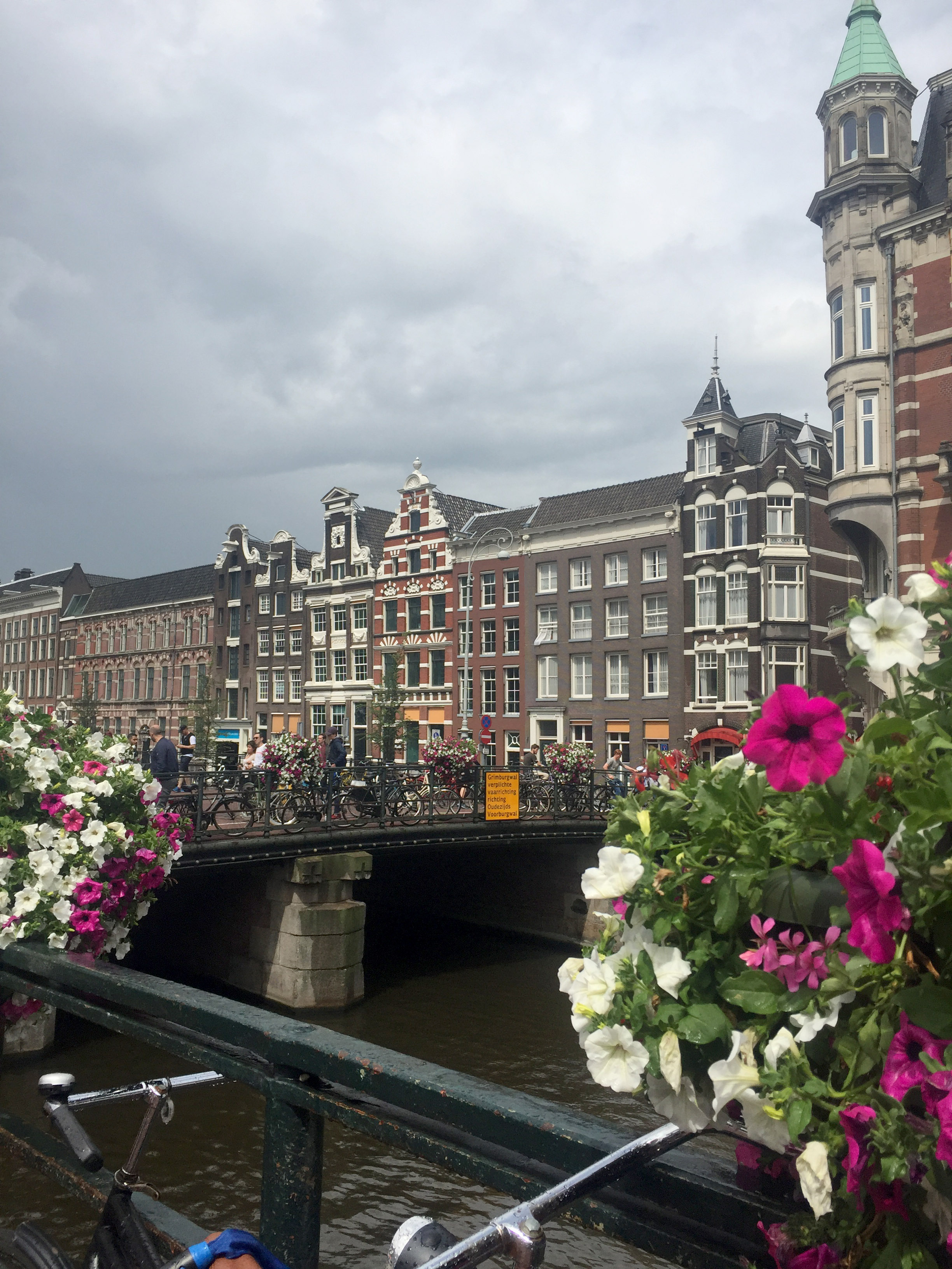 We flew into Amsterdam and spent our first day exploring the historic portion of the city.