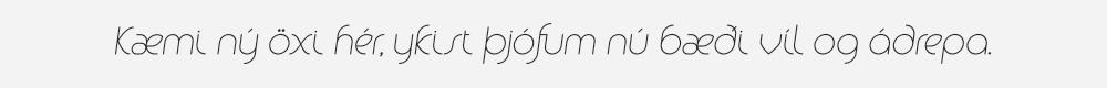Alio Pro Light Italic