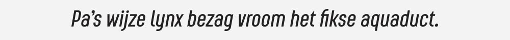 Augmento Condensed Medium Italic