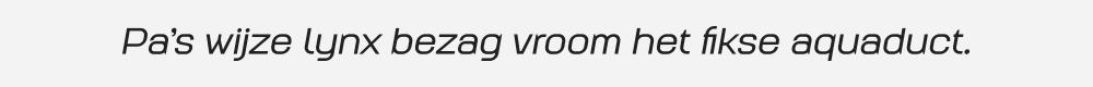 Augmento Extended Medium Italic