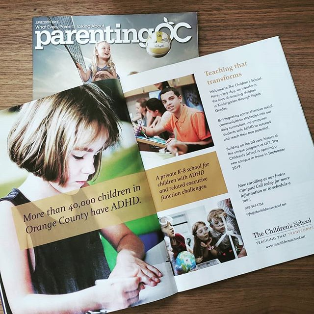 Did you catch us in the June and July issues of @parentingocmag? . . . #adhdirvine #adhdatschool #irvine #adhdirvine #parenting #parentingoc