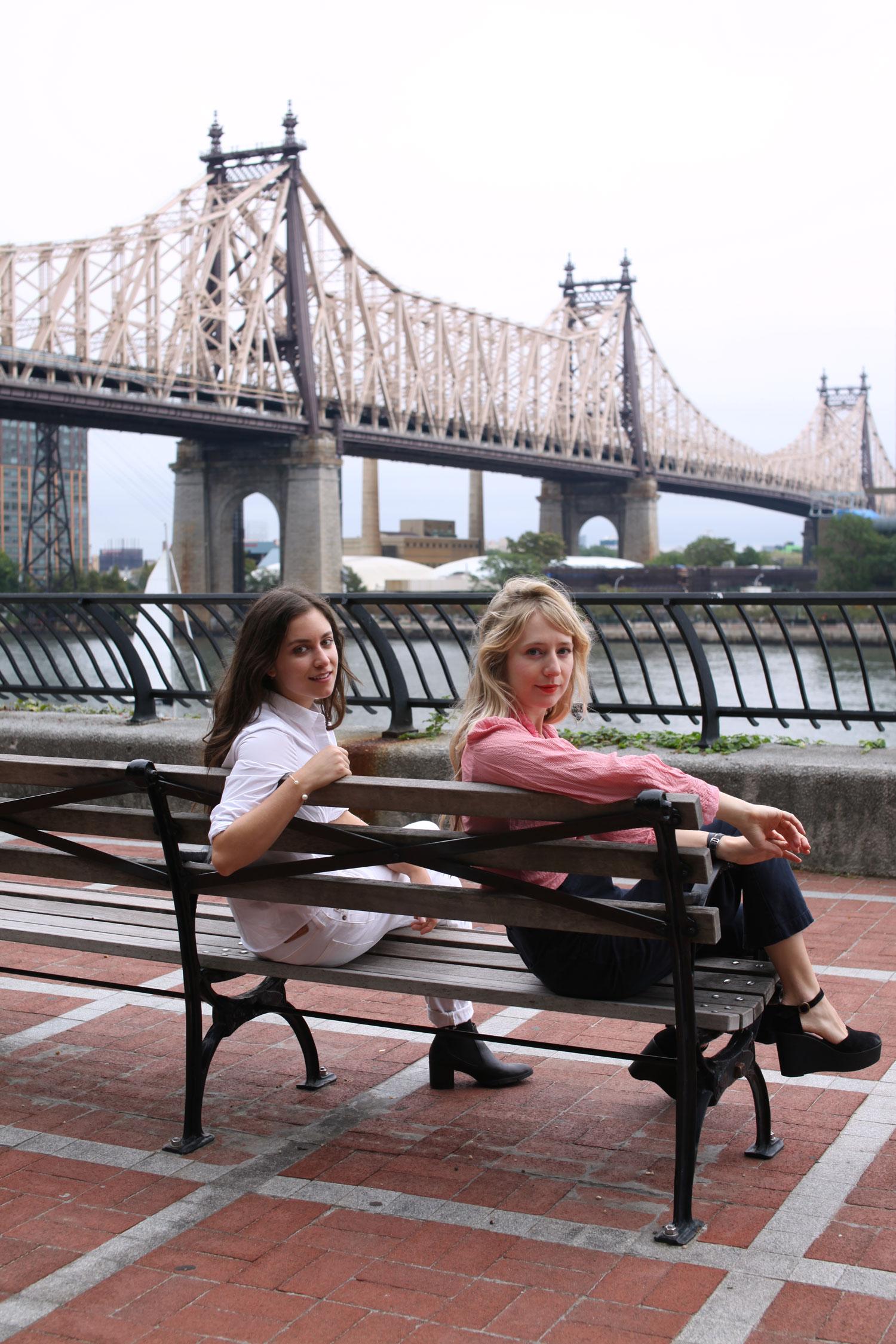 Joana Avillez and Molly Young
