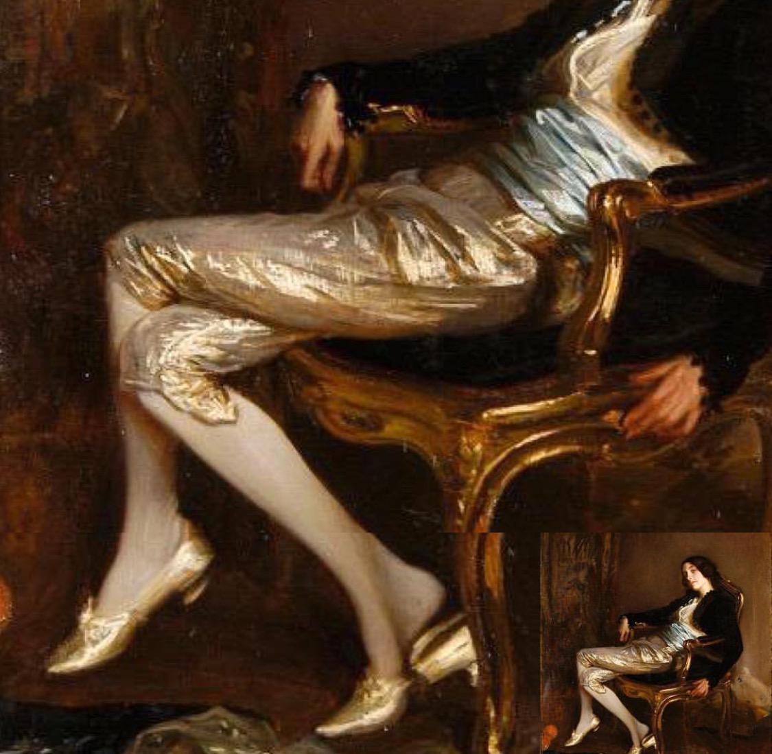 Artist: Jacques Émile Blanche  Le Cherubin de Mozart  1903 Musée des Beaux Arts