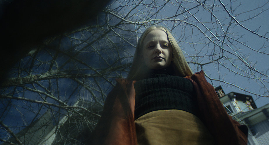 Wilhelmi in a production still from the upcoming  Sweet, Sweet Lonely Girl.