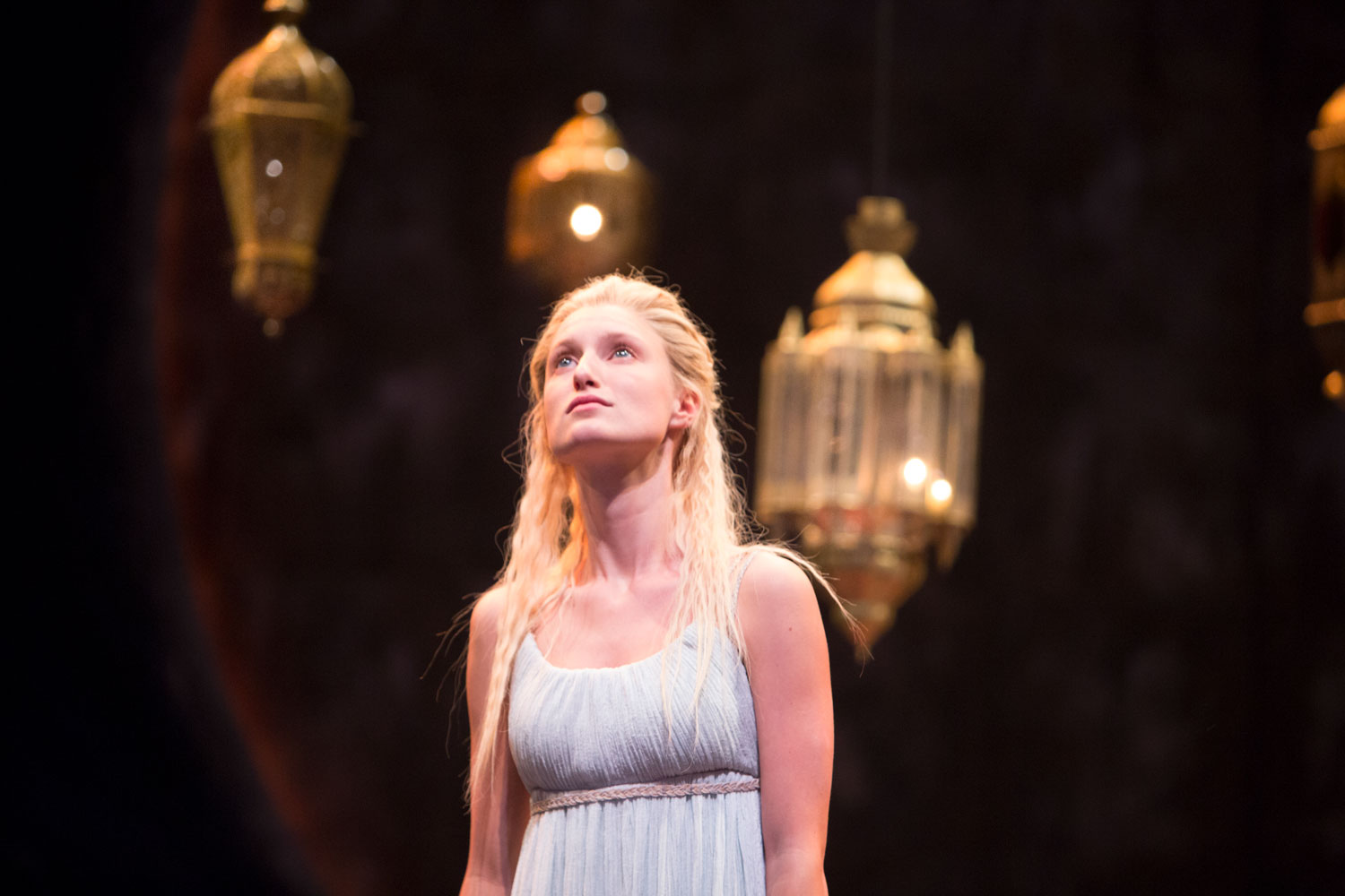 Englert in Theatre for a New Audience's  Pericles . Photo by Henry Grossman.