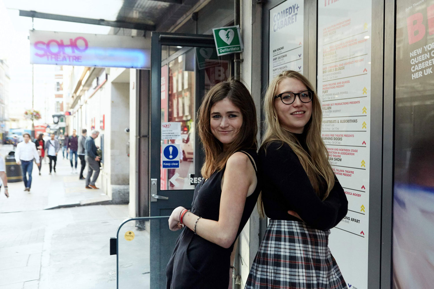 Hannah and Kitty by The Other Richard.