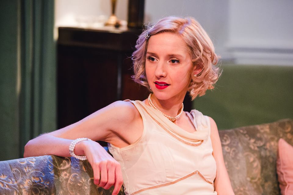 Peta as Lou in  After October  at the Finborough Theatre