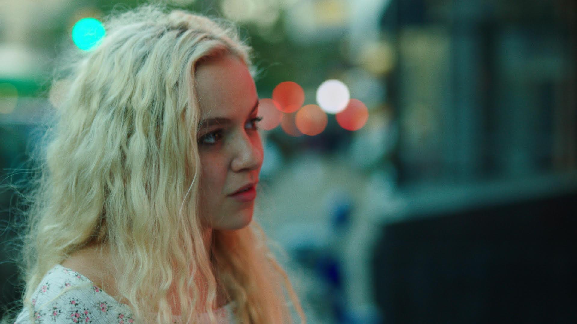 Morgan Saylor in  White Girl . Courtesy of Bank St Films.