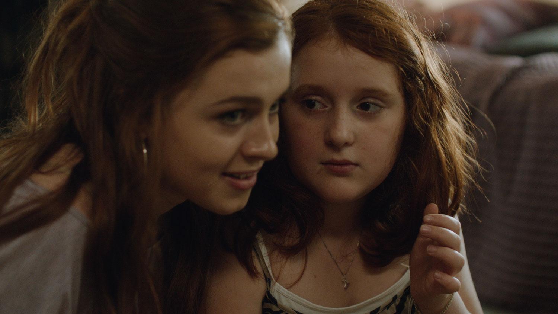 Amy Deasismont and Rebecka Josephson in  My Skinny Sister .