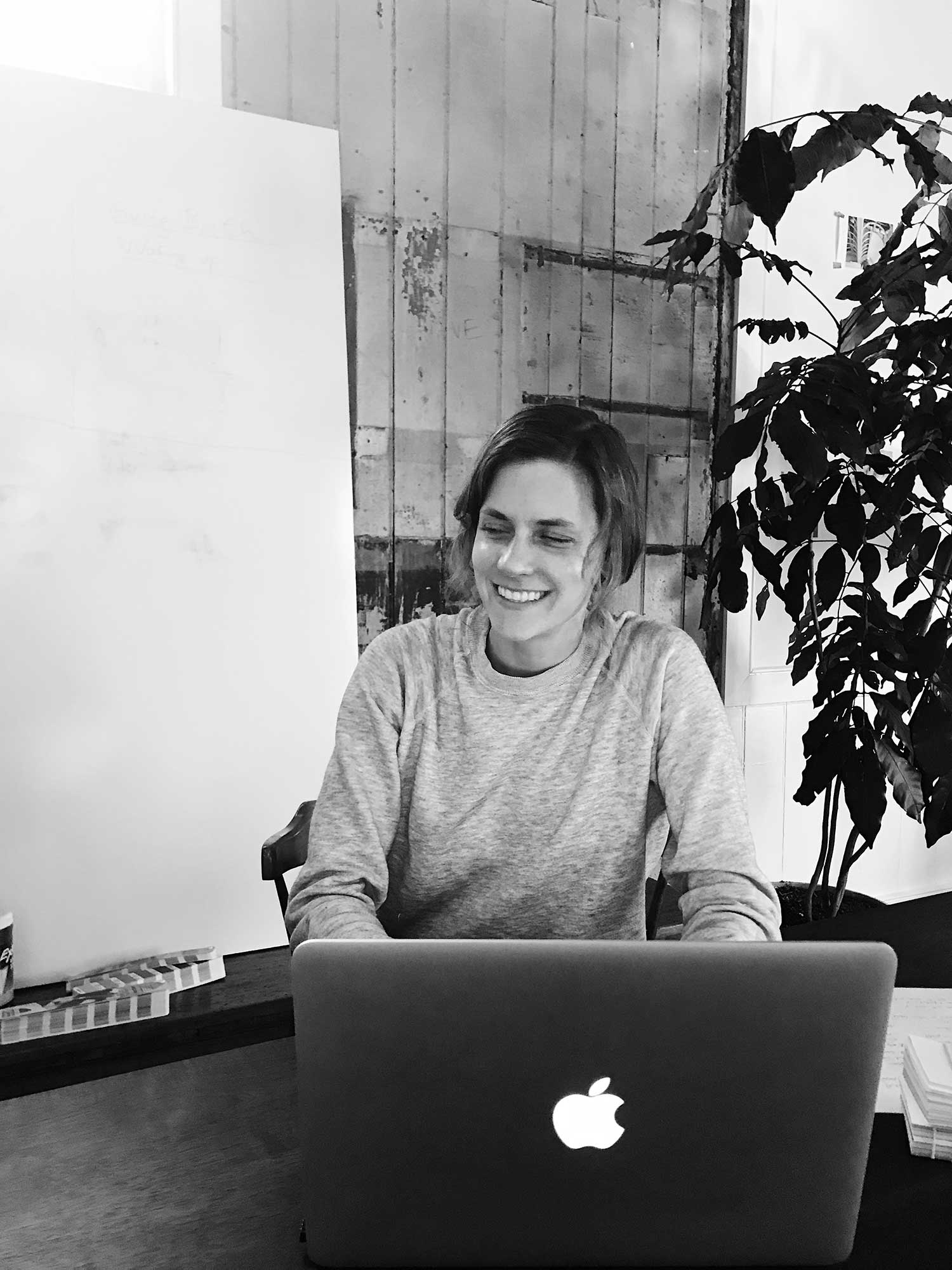 MEET HELEN RICE - The co-founder and creative director of full-service agency Fuzzco offers a glimpse inside her curiosity-driven company—from sunup to sundown.