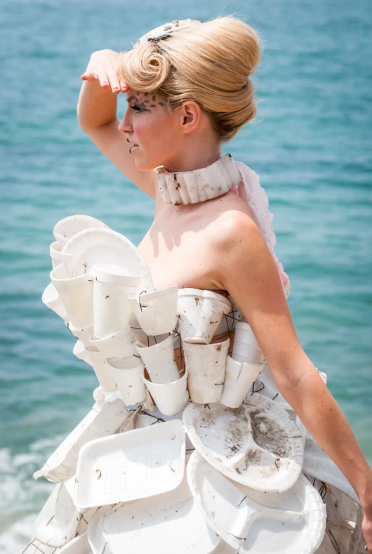 """Takeaway Queen"" byMarine DeBris photographed in Malibu by Monching Flores"