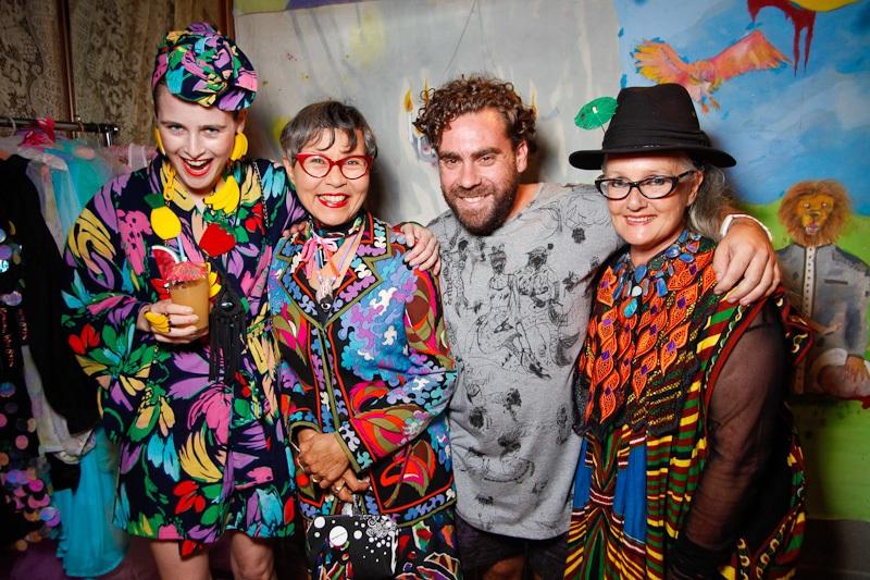 Anna, Jenny, Luke & Linda in 2011