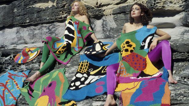 Jenny Kee knits from 1979