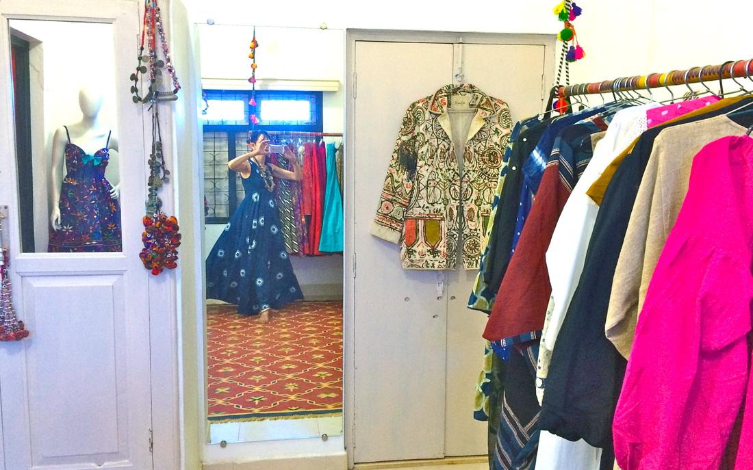 Madame Hall's studio in Bhuj