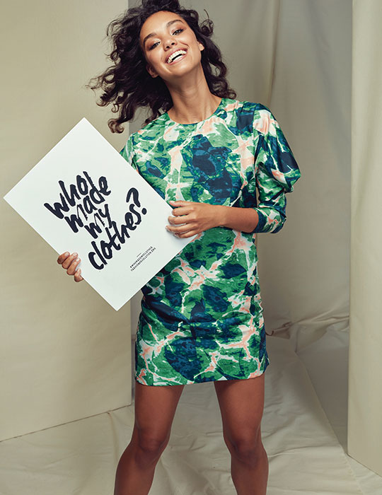 Bianca Spender x The Social Outfit for the David Jones Fashion Revolution capsule