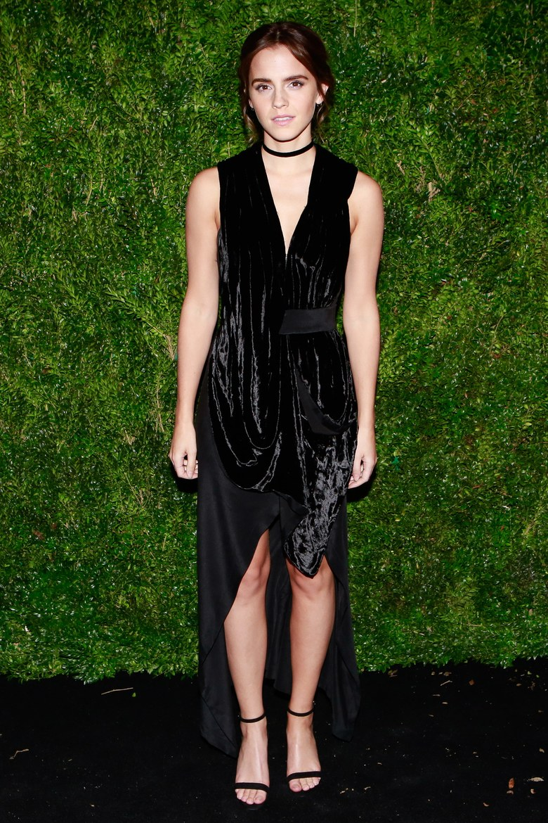Emma Watson in KITX at a MoMA Film Benefit in 2016