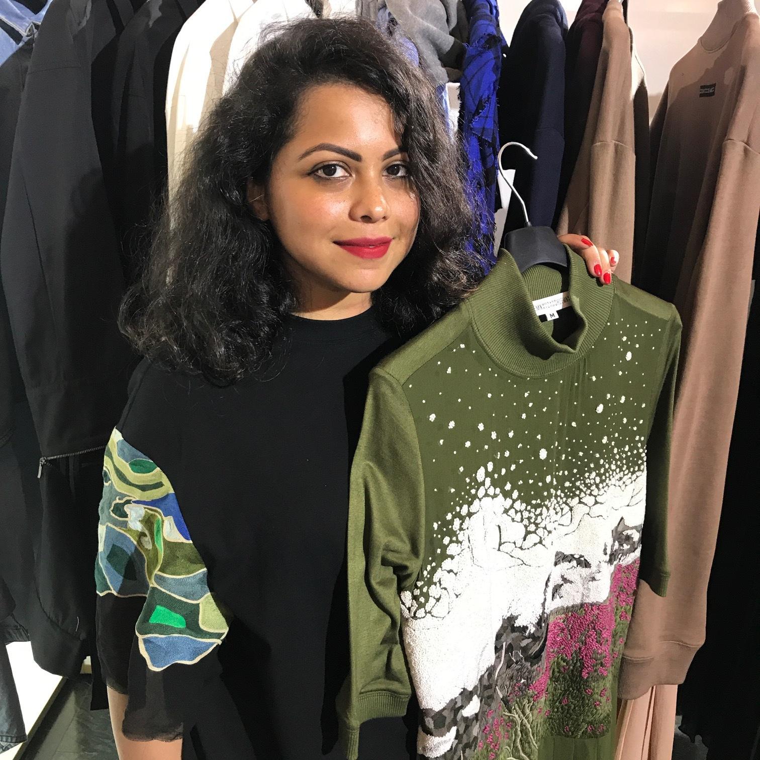 Designer Shyma Shetty