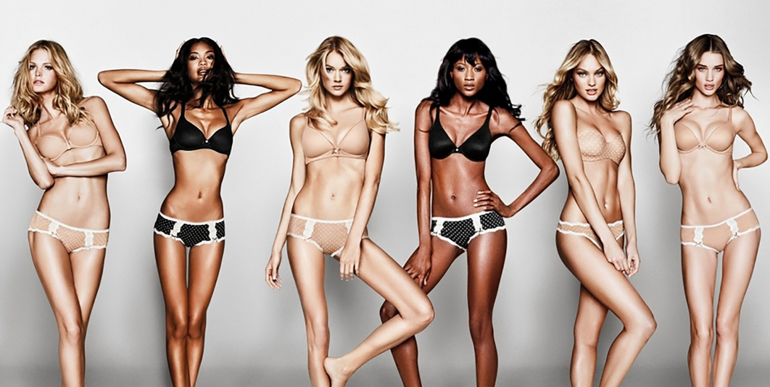 "When a Victoria's Secret ad proclaimed this ""the perfect body"" in 2014, there was uproar."
