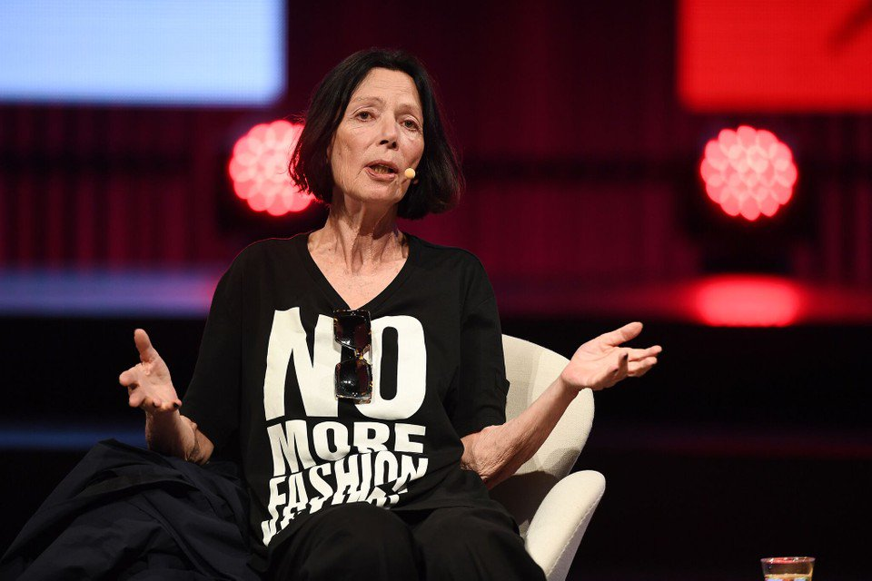 Katharine addresses the 2019 Copenhagen Fashion Summit