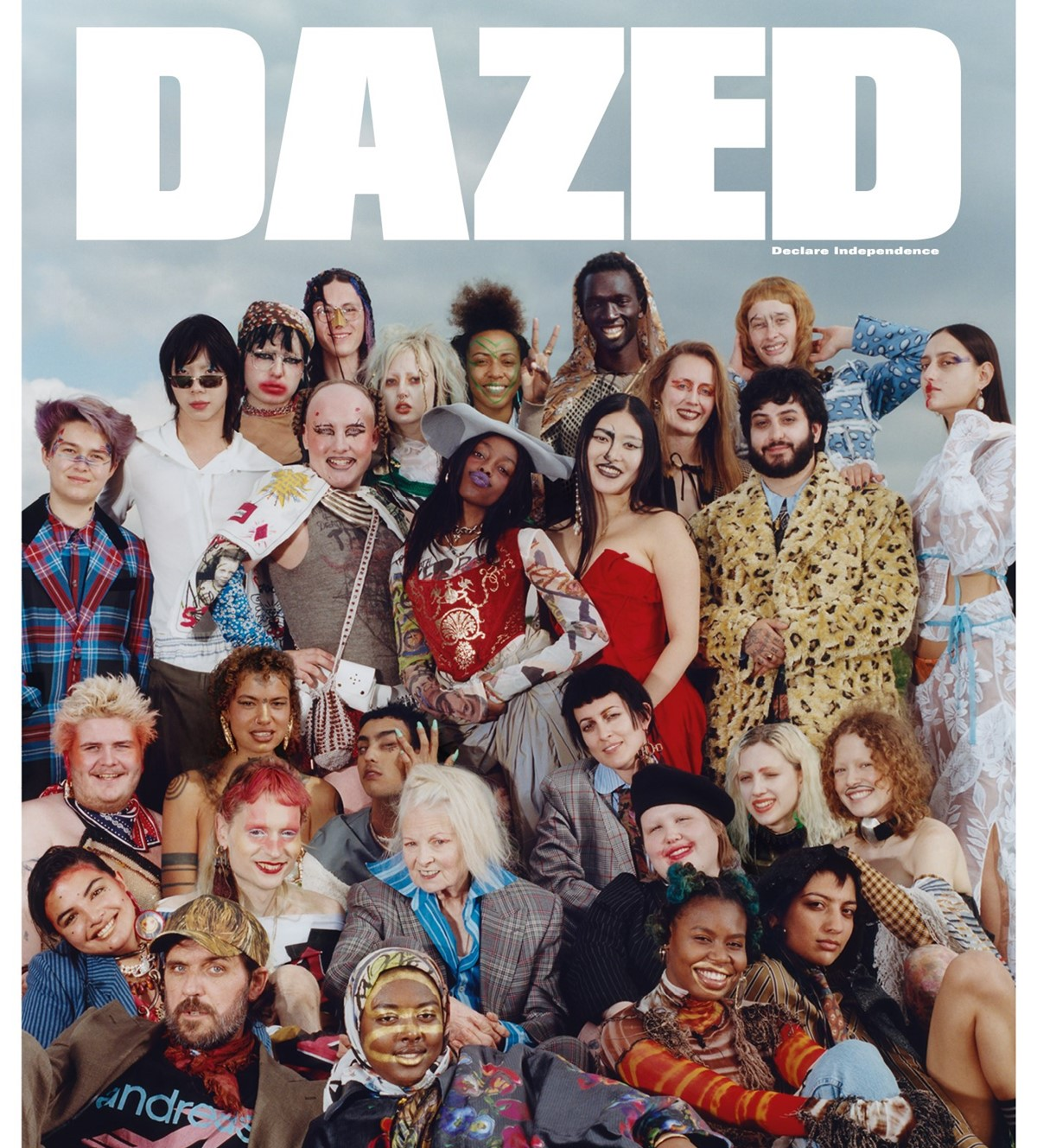 "On the ""Youth is Revolting"" cover of Dazed, with Westwood, Summer 2018"