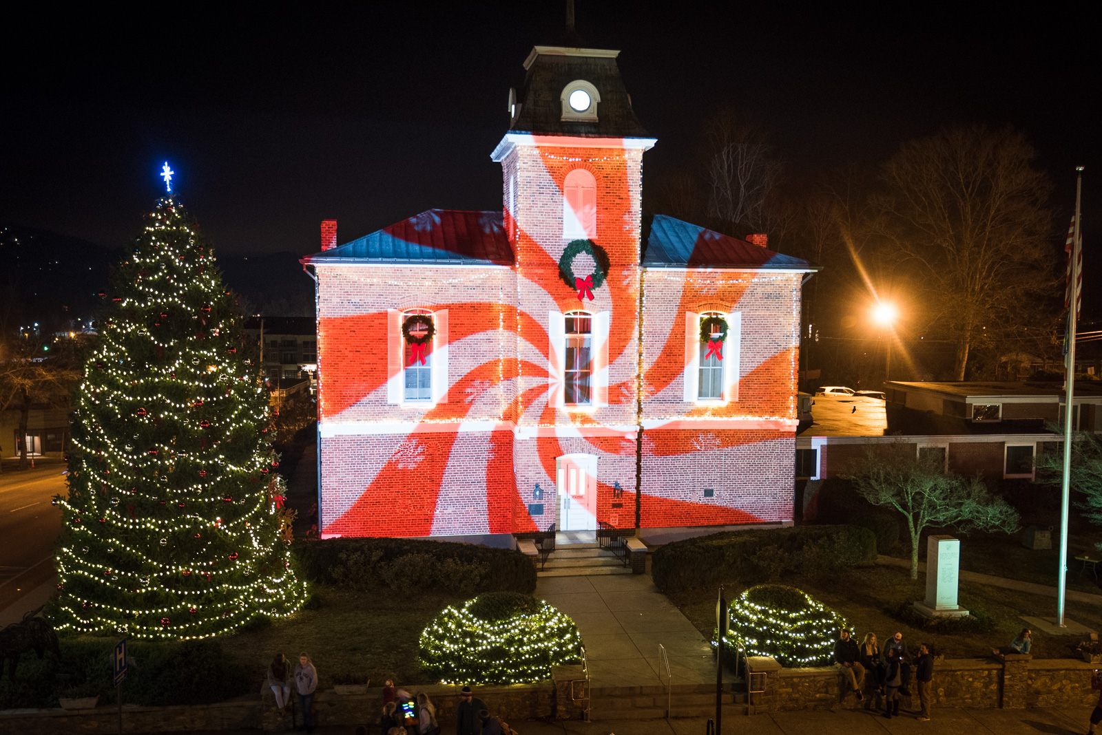 Brevard, NC | Holiday Lights