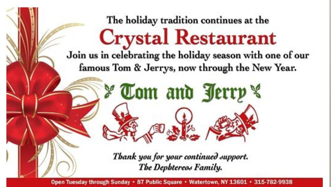 The Crystal Restaurant (via their website)