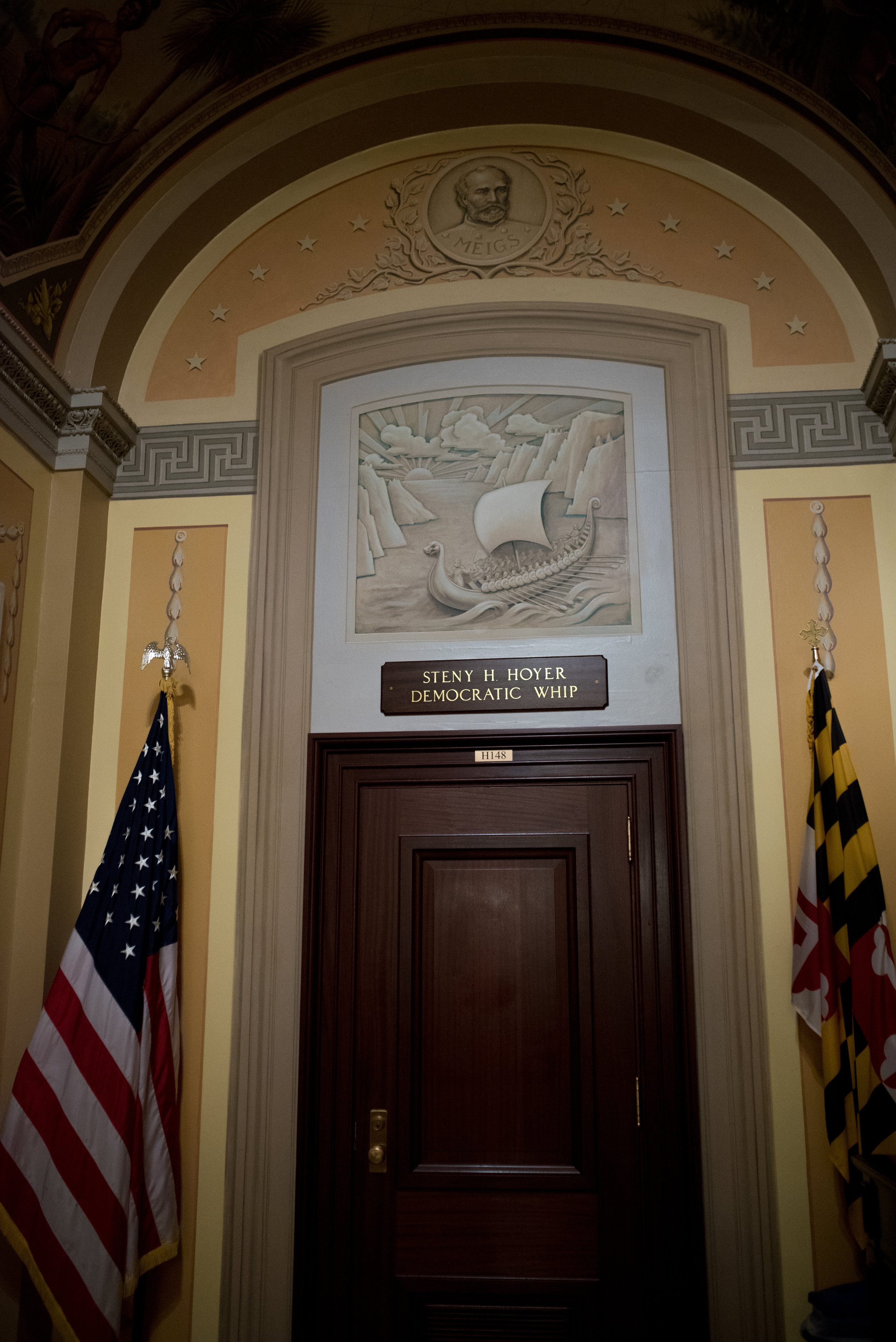 The office of Democratic Whip Steny Hoyer